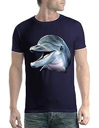 avocadoWEAR Delfín Hombre Camiseta ...