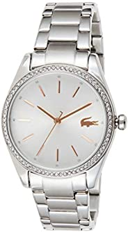Lacoste Womens Quartz Watch, Analog Display and Stainless Steel Strap 2001083