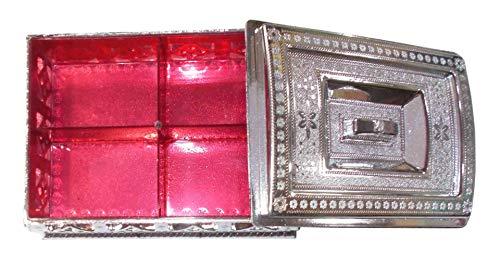 Kotak-Sales-Multipurpose-Gift-Box-Elegant-Royal-Design-Silver-Oxidized-Plastic-Dry-Fruit-Container-Chocolate-Mouth-Freshener-Box-Birthday-Party-Festival-Return-Gift-Set-of-12-Pcs