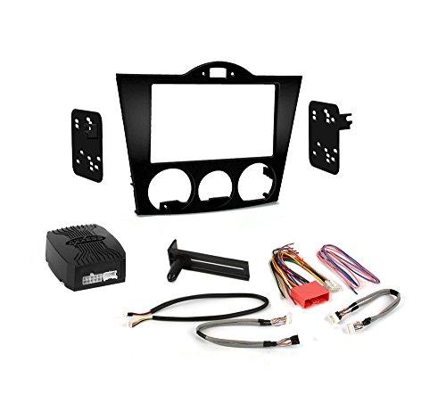 Metra 95-7510 Radiohalterung 2DIN/2ISO Einbau-Kit für Mazda RX-8 2004-2008