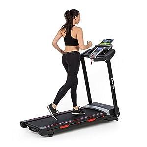 Capital Sports Pacemaker – Laufband, Heimtrainer, Trainingscomputer, klappbar, grau oder schwarz
