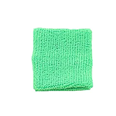 Terry Cloth 3 Ply Ultimate Wristband Various Colors Sweatband (Neon Green)
