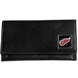 NHL Detroit Red Wings Women's Leather Wallet