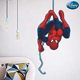 Superhero stickers muraux Spiderman décor de salle vengeurs pour enfants Les S001. autocollants de bande dessinée bricolage affiche de film d'art mural 5.0,ZYPA-SDM001-NN,taille