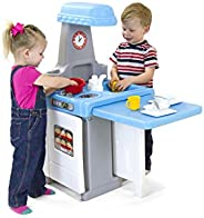 Simplay3 Play Around Kitchen & Activity Center - 21607R-01, Multi Color (216070