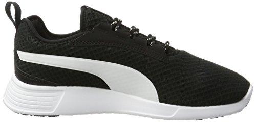 Adulte Sneakers Puma Bassi bianco Allenatore Noir Mixte St V2 Evo nero qBIS0Tw4I