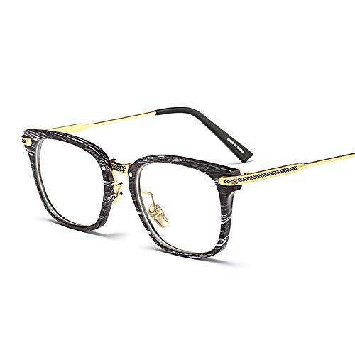 WULE-RYP Polarisierte Sonnenbrille mit UV-Schutz Mode Sonnenbrillen klare Linse Gläser Nicht verschreibungspflichtigen Brillen Frames für Frauen Männer Superleichtes Rahmen-Fischen, das Golf fährt