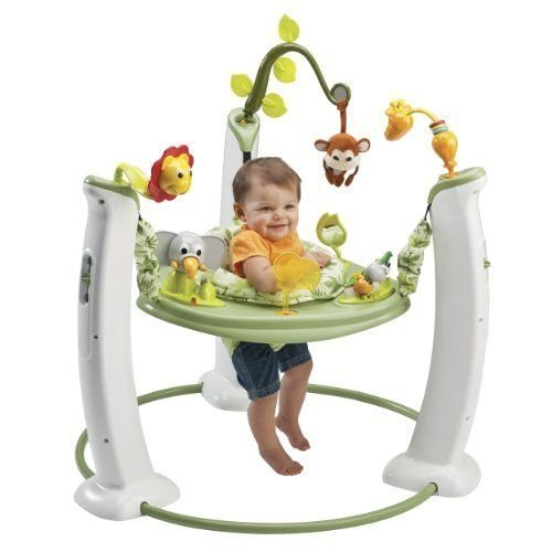 new-love-evenflo-exersaucer-jump-and-learn-stationary-jumper-safari-friends-by-prathai