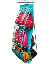 Yellow Weaves™ Large Clear Purse Hanging Storage Organizer Closet Tidy Handbag