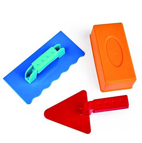Hape E4064 - Maurermeister-Set, Strandspielzeug/Sandspielzeug, mehrfarbig
