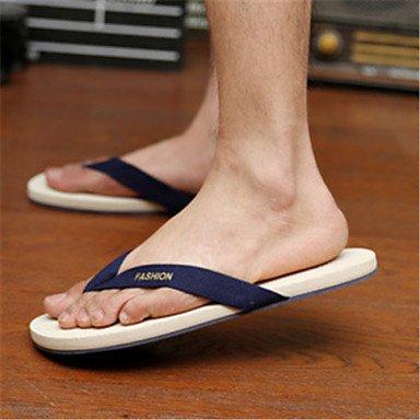 Herren Schuhe Casual Sandalen Schwarz/Blau/Gelb Gelb