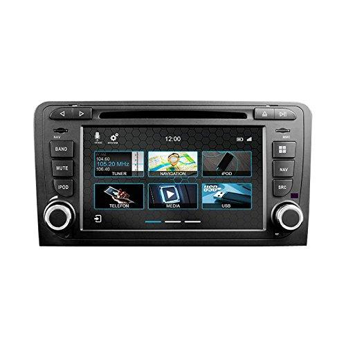 Dynavin N7-A3 Appareil de Navigation pour Audi A3