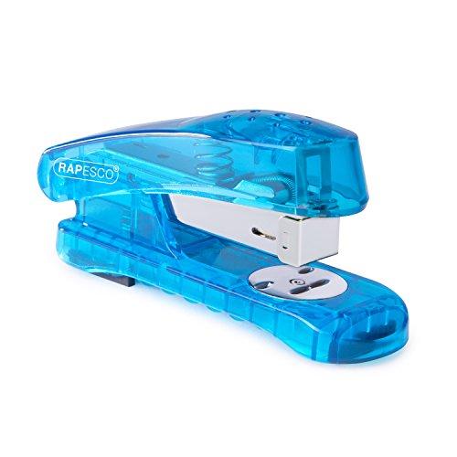 Rapesco Snapper Half Strip Stapler - Random Blue/Green