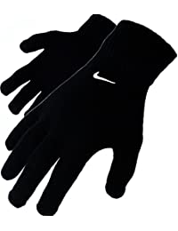 Nike Knitted Winter Gloves–Black, Size L/XL