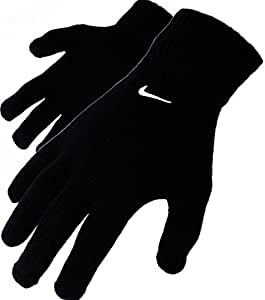 nike strick winter handschuhe black gr e l xl. Black Bedroom Furniture Sets. Home Design Ideas
