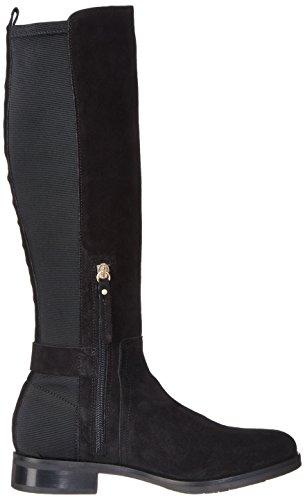 Tommy Hilfiger Damen T1285essa 3c Stiefel Schwarz (Black)