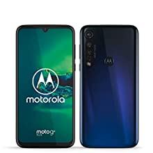 """Motorola Moto G8 Plus, Display FHD 6,3"""", Sensore Fotocamera da 48 MP , Altoparlanti Stereo Dolby, 64 GB/4GB, Android 9.0, Dual SIM, Blue"""