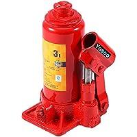 3toneladas capacidad Vertical coche hidráulico Jack, Heavy Duty hidráulico de botella elevación (soporte para coche/van/barco/Camión/Caravan