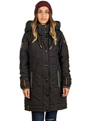 Naketano A Woman Will Rise Up V Jacket Black Schwarz