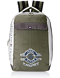 Tommy Hilfiger White Casual Backpack (TH/DIS15LAPC)