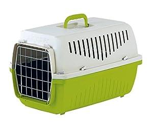 PATRIMOINE skippa-duo Transporteur pour chien en plastique pour chien chiot chat chaton Lapin Transport Cage de voyage