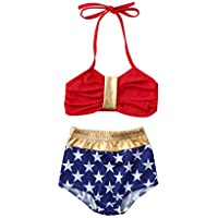 18c0dfe37f2da FALAIDUO Baby Girl Swimwear 3-6 Months Kids one Piece Swimsuit Kids Swimwear  Girls Tankini