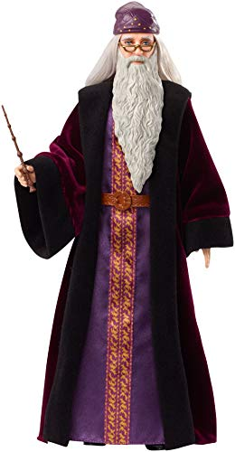 Harry Potter - Muñeco Dumbledore, Multicolor (Mattel FYM54)