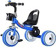 3 Wheel LED Lighting Trike Ride On Tricycle Kid's Bike Stroller-