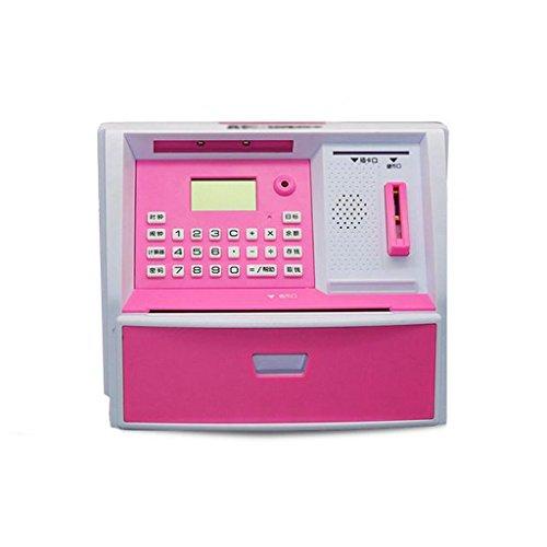 Di colore rosa creativo macchina di plastica ATM Salva latte dei (Atm Macchina)