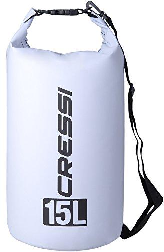 Cressi Dry Bag Sacca Stagna per Attività Sportive, Sub, Pesca, Nautica, Nuoto e Sport Acquatici