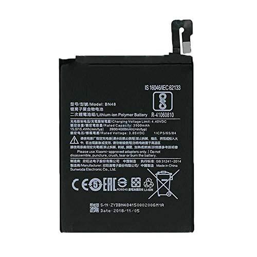 Todobarato24h Bateria Compatible con Xiaomi REDMI Note 6 Pro Note 6 BN48 3900 mAh