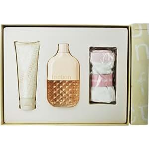 FCUK Friction Her Gift Set 100ml EDP + 100ml Massage Cream + Friction Underwear