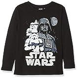 Disney Star Wars Darth Vader/Stormtrooper, T-Shirt Garçon, Noir (Black), 3-4 Ans