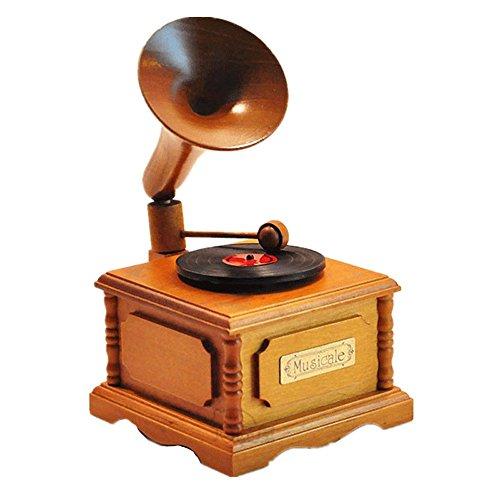 rammophon spieluhr spieluhr klavier kinder freundin geburtstagsgeschenk,ein grammophon (Kinder-halloween-songs-cd)