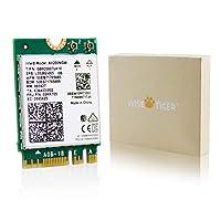 AC600Mbps PCIe بطاقة شبكة واي فاي لاسلكية Bluetooth 4.0 محول 2.4G/5.8G ثنائي النطاق PCI Express شبكات الإنترنت تدعم Windows 10 / Win 8.1/ Win 7 لأجهزة الكمبيوتر المكتبي 4018522