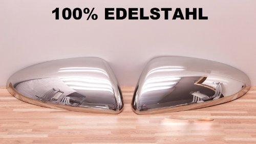 Chrom Spiegel Kappen EDELSTAHL (Spiegelkappen Nissan)