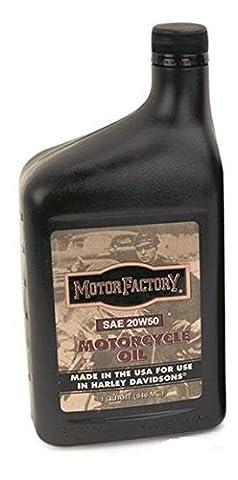 Motor Factory Hochleistungs SAE 20W50 Motoröl Öl mineralisch für Harley (0,946L) - 20w50 Olio
