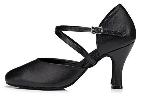 TDA , Sandales Compensées femme 8cm Heel Black