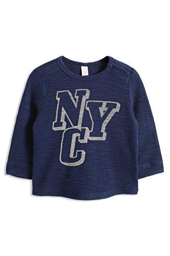 ESPRIT Baby - Jungen Sweatshirt 075EEBJ003, Gr. 68, Blau (NAVY 400)