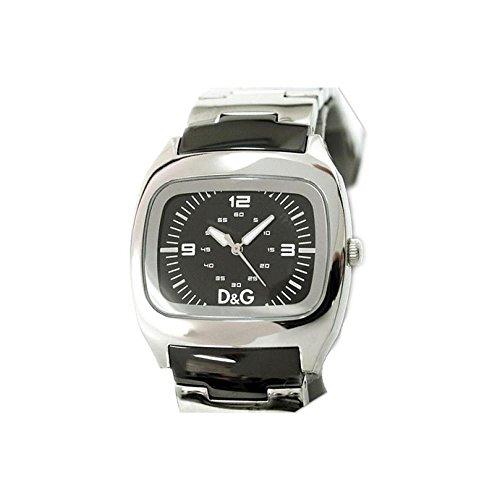 D&G Dolce & Gabbana DW0320 - Orologio da polso da uomo, cinturino in acciaio inox colore argento