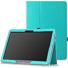 MoKo–Funda fina y plegable para Tablet Samsung Galaxy Note Pro 12.2, Tab 3Lite 7, Tab 47.0, Tab 48.0, Tab 410.1, Tab Pro 8.4, Tab Pro 10.1 azul azul claro para Galaxy Note Pro 12,2