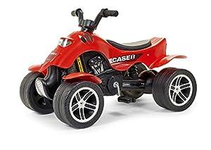 Falk Case IH Pedal Quad - Juguetes de Montar (Pedal, Quad, 3 año(s), Rojo, Niño/niña, 7 año(s))
