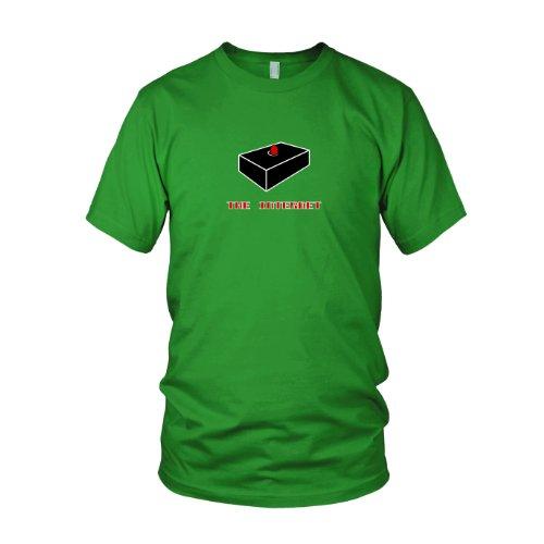 IT Crowd The Internet - Herren T-Shirt Grün