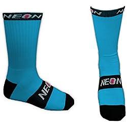 Neon - Calcetines altos de deporte - bleu lagon - 40-44