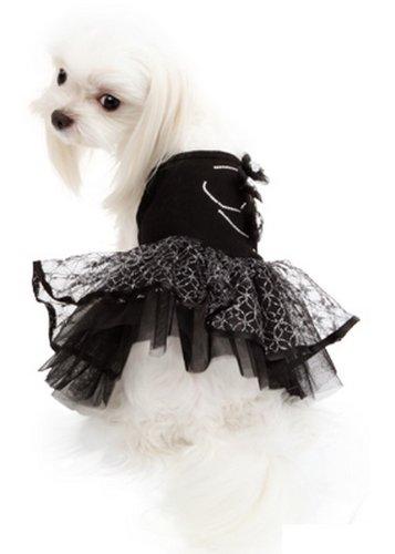 Puppy Angel Kleid Tinkerbell Tutu Schwarz Tinkerbell Tutu