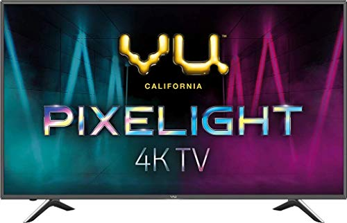 VU 126 cm (50 inches) Pixelight 4K HDR Smart LED TV 50QDV (Black) (2019 Model)