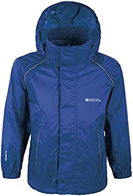 Mountain Warehouse Chaqueta impermeable Pakka para niños