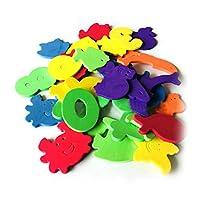 Afdiscount Foam Numbers Letters Card Bath Toy Bathroom Alphabet Toys Stick On Foam Wall