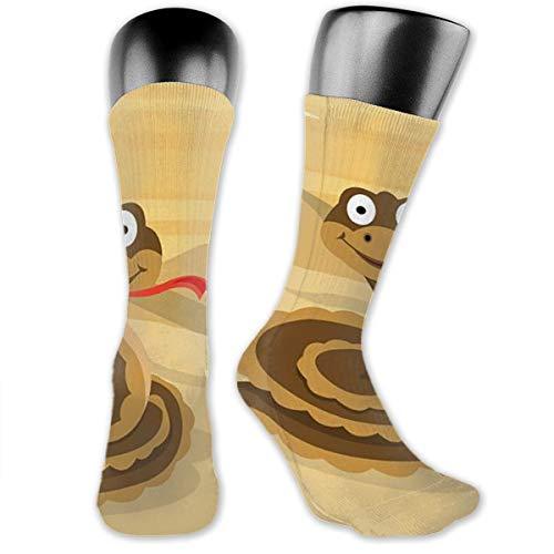 Crew Socken Cartoon Anaconda Short Sock Sport Tube Stocking für Männer Frauen - Anaconda Athletic Shorts