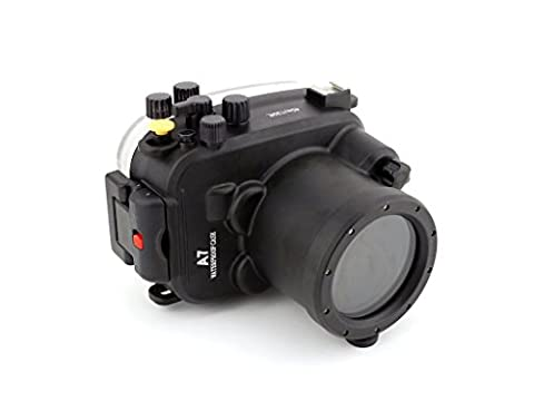 Polaroid SLR Dive Rated Waterproof Underwater Housing Case For The Sony A7 Camera with a 28-70mm